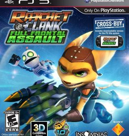Ratchet and Clank: Full Frontal Assault - PS3 NEW