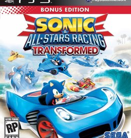 Sonic and All Stars Racing Transformed - PS3 NEW