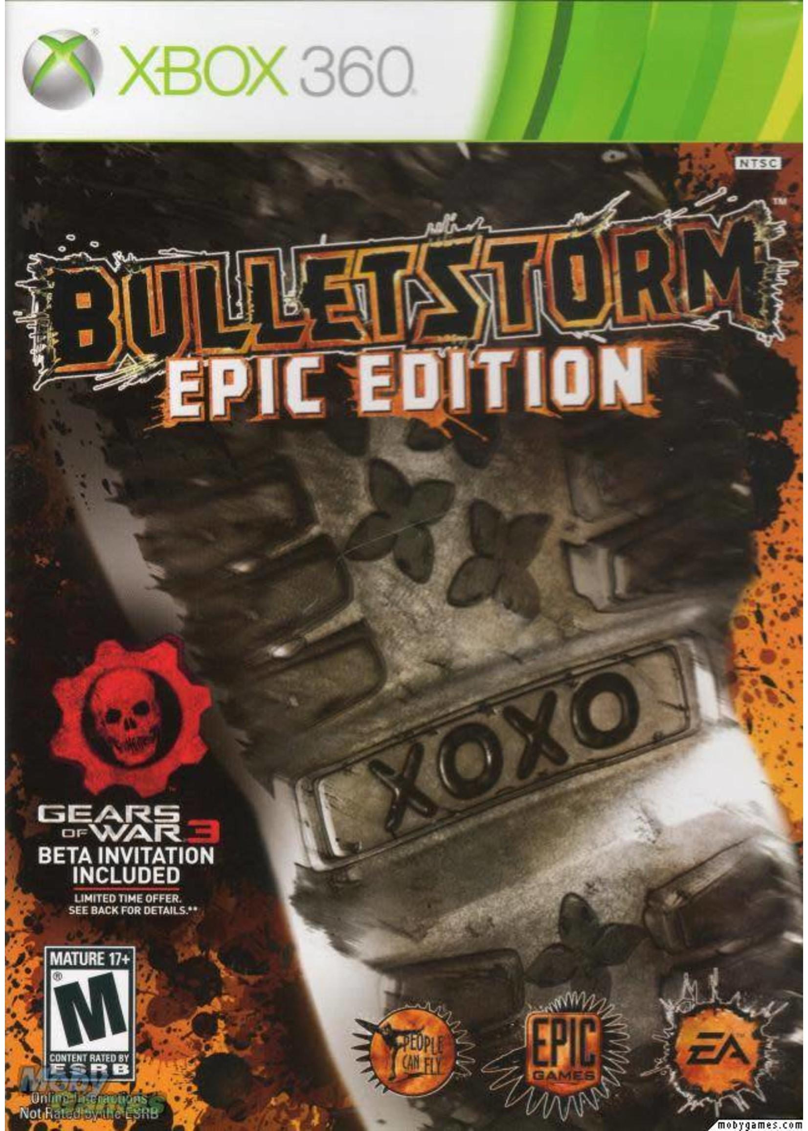 Bulletstorm: Epic Edition - XB360 PrePlayed