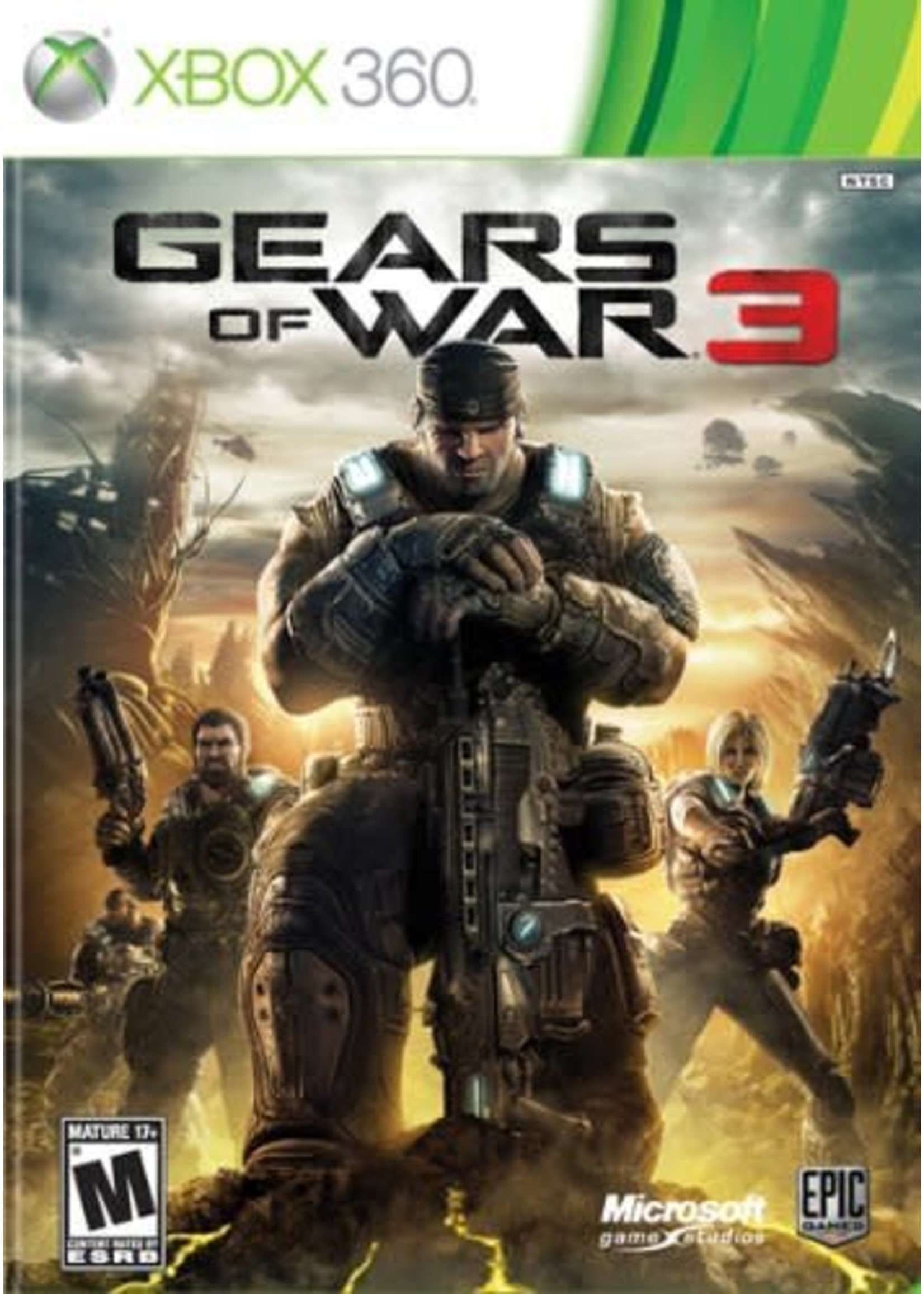 Gears of War 3 - XB360 PrePlayed