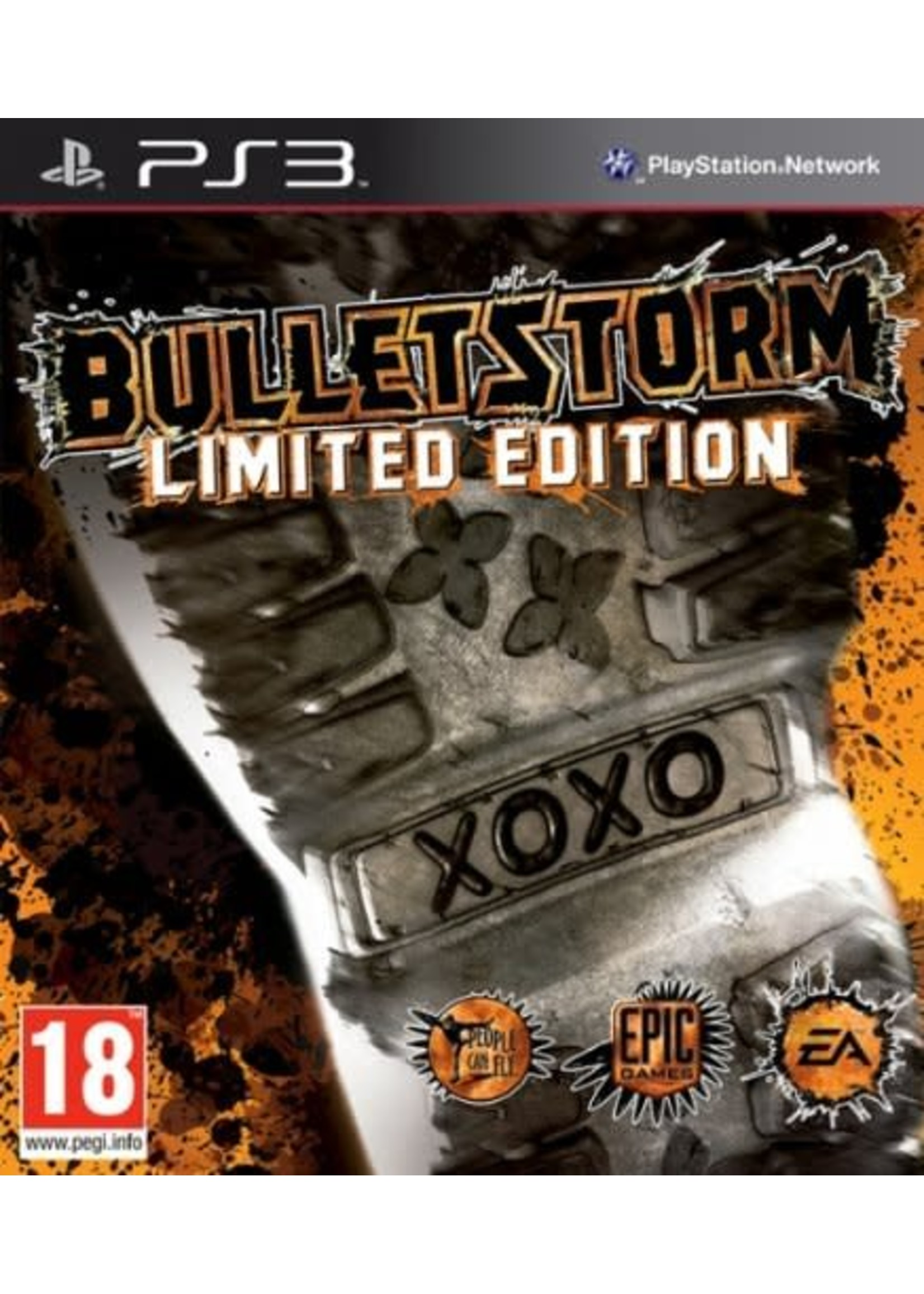 Bulletstorm Limited Edition - PS3 PrePlayed