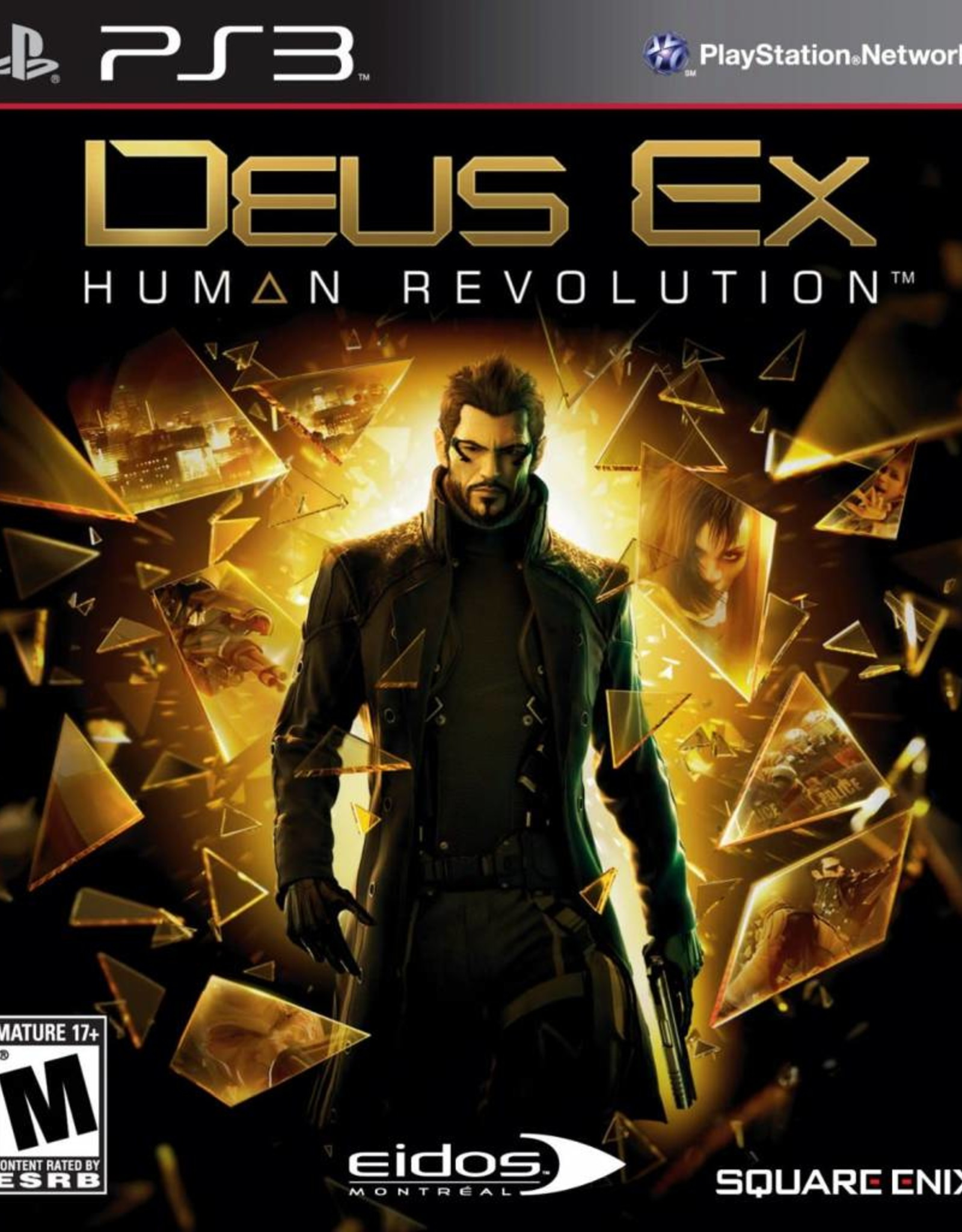 Deus Ex: Human Revolution - PS3 PrePlayed