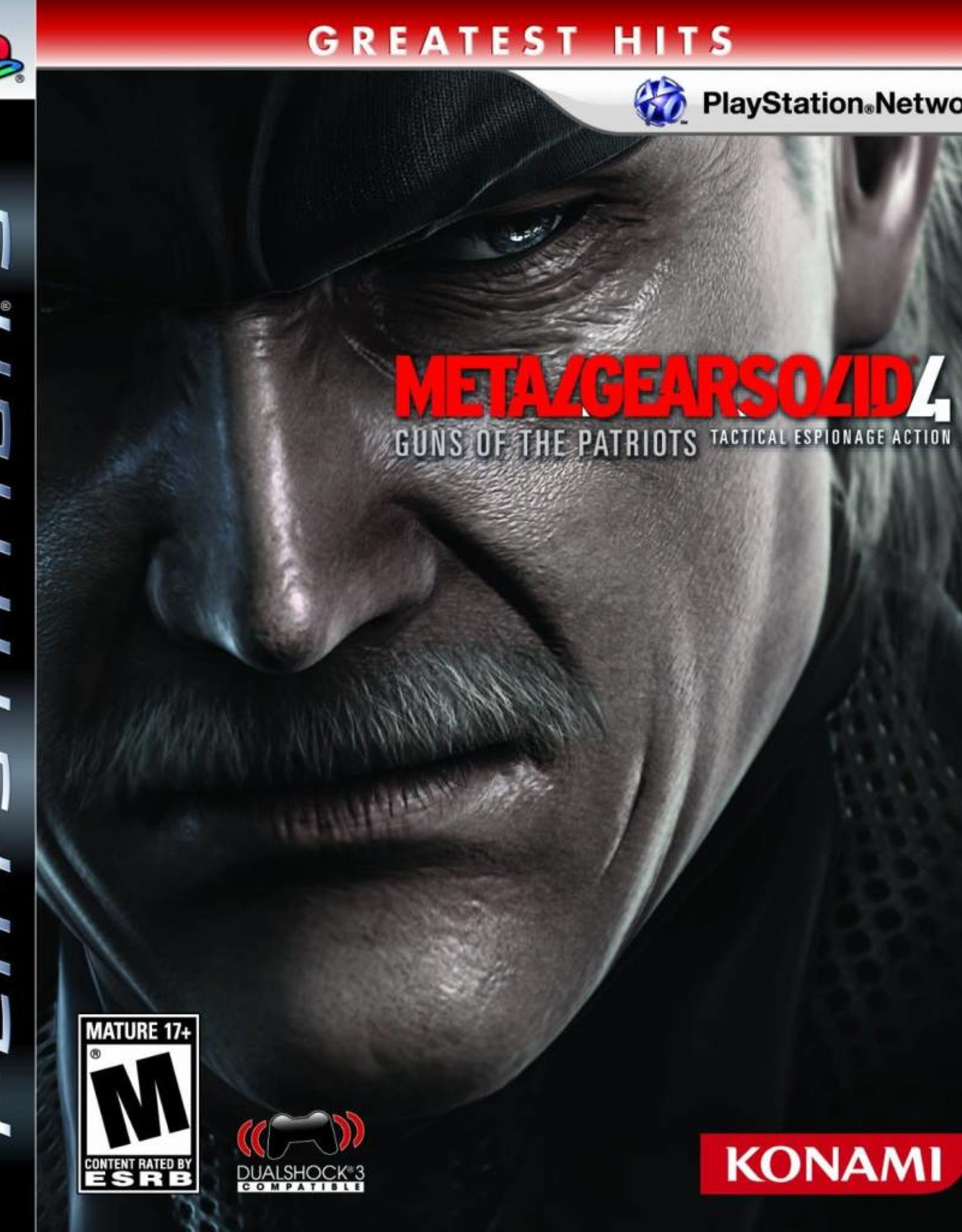 Metal Gear Solid 4 - PS3 PrePlayed