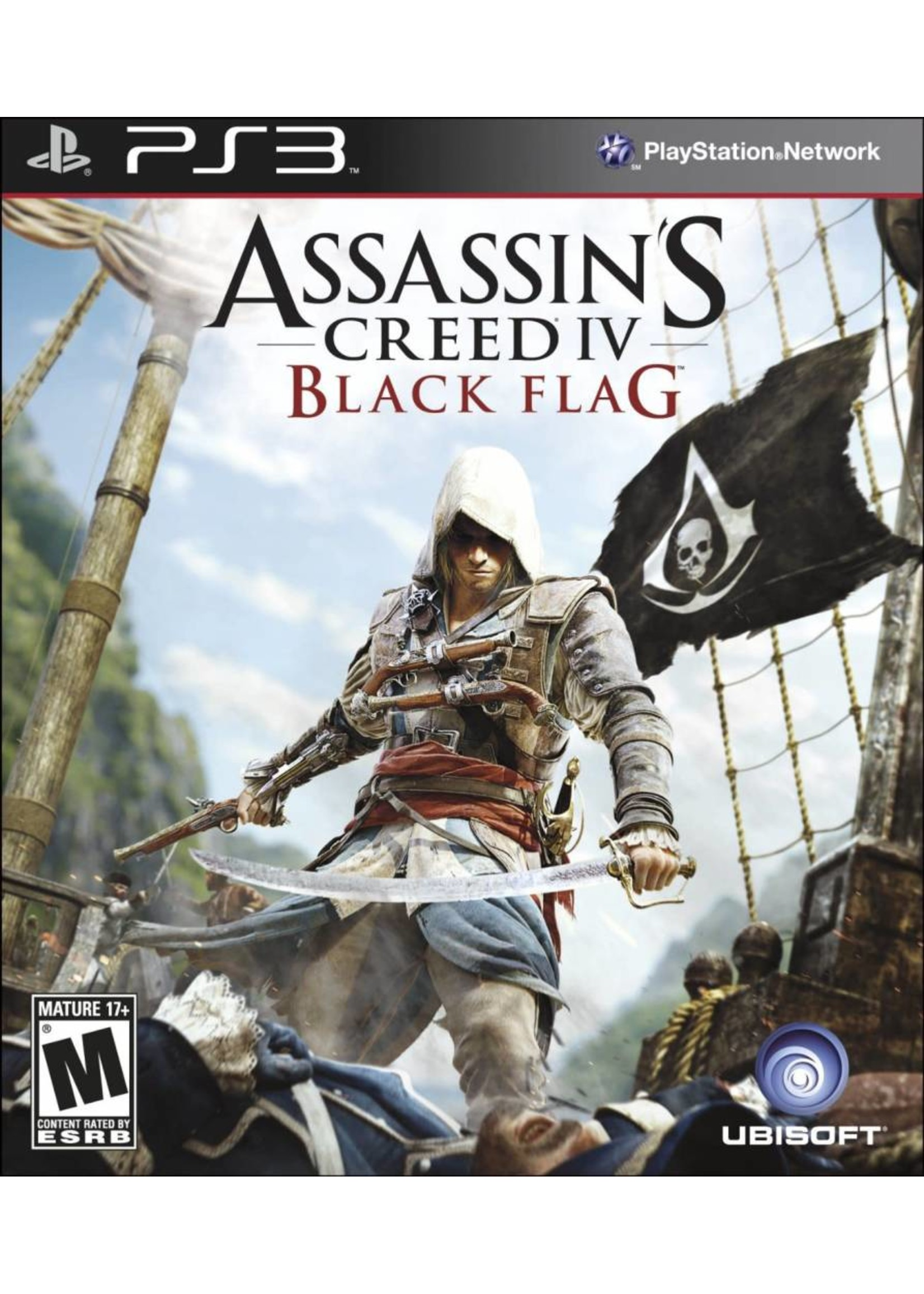 Assassin's Creed 4 Black Flag - PS3 PrePlayed