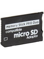 PSP Micro SD to MS Pro Duo Adapter