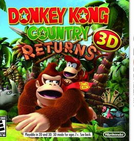 Donkey Kong Country Returns - 3DS PrePlayed