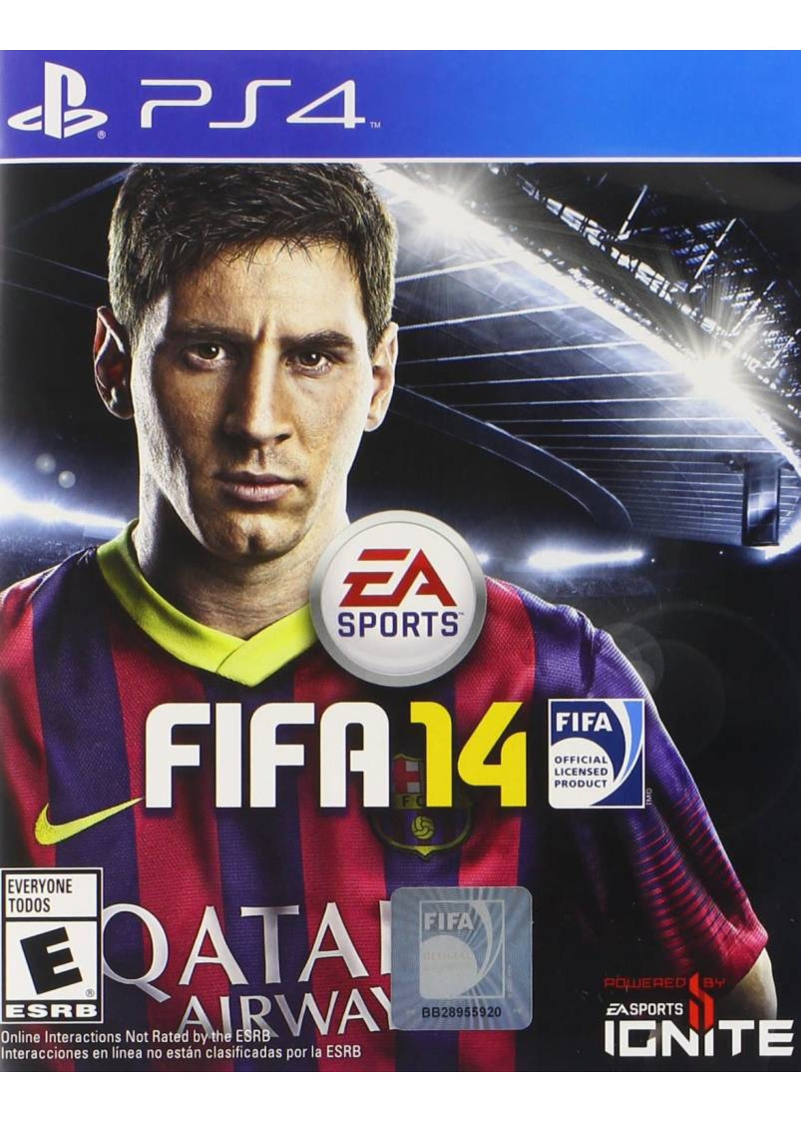 FIFA 14 - PS4 PrePlayed