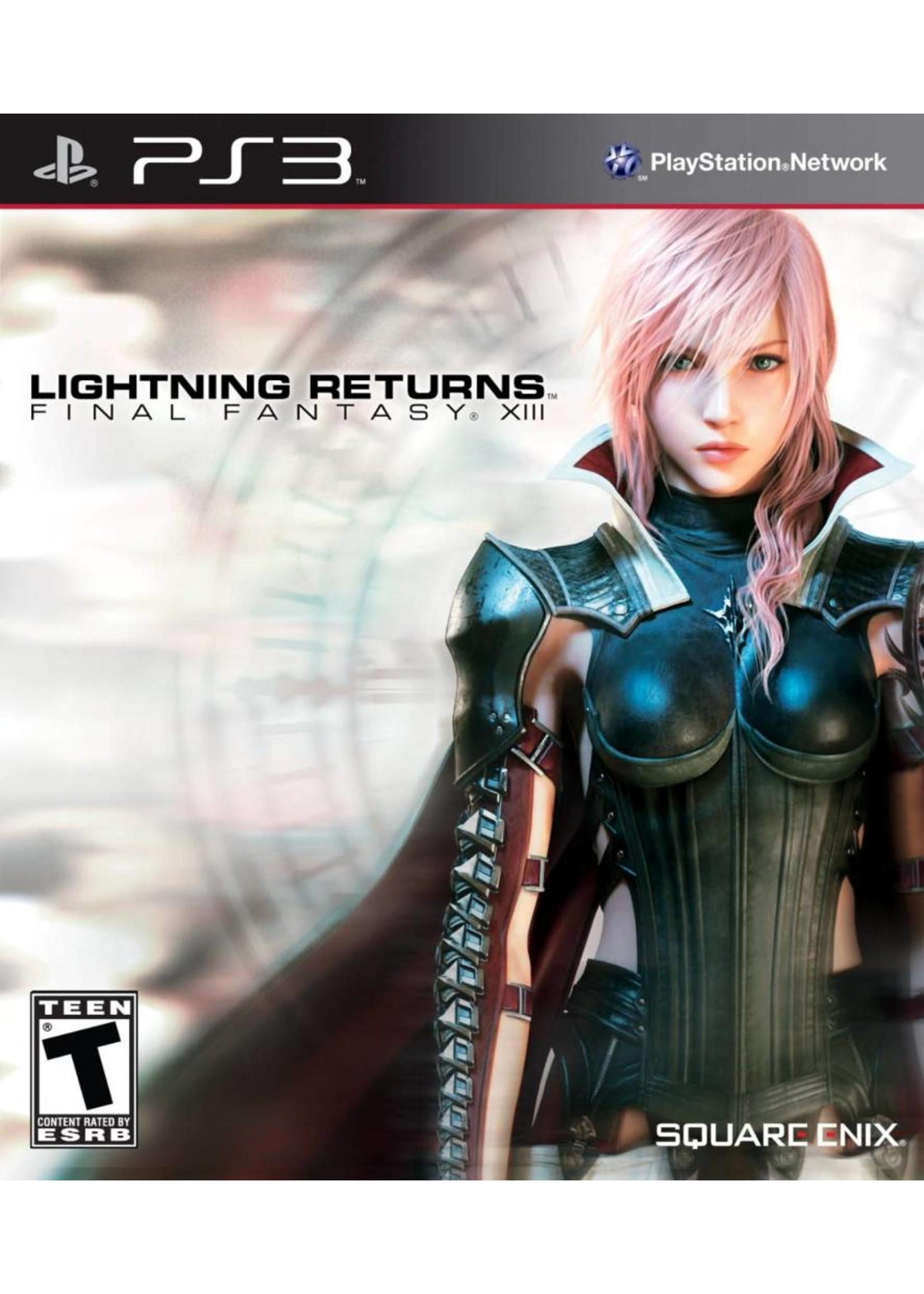 Final Fantasy 13: Lightning Returns - PS3 PrePlayed