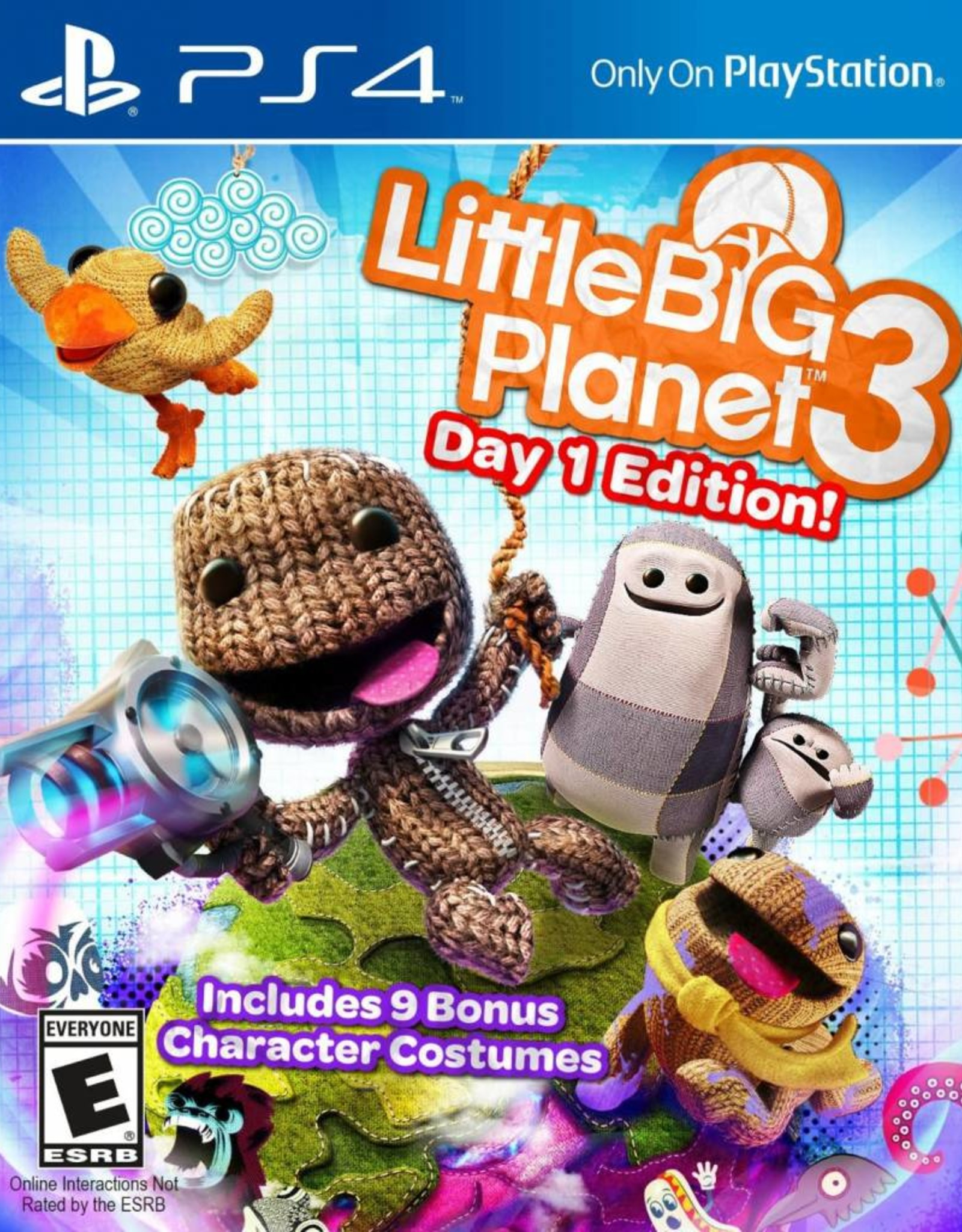Little Big Planet 3 - PS4 NEW