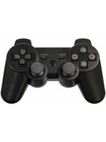 PS3 Bluetooth Compatible Controller (Black / Red / Blue)
