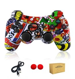 PS3 Compatible Colour Controller (Graffiti)