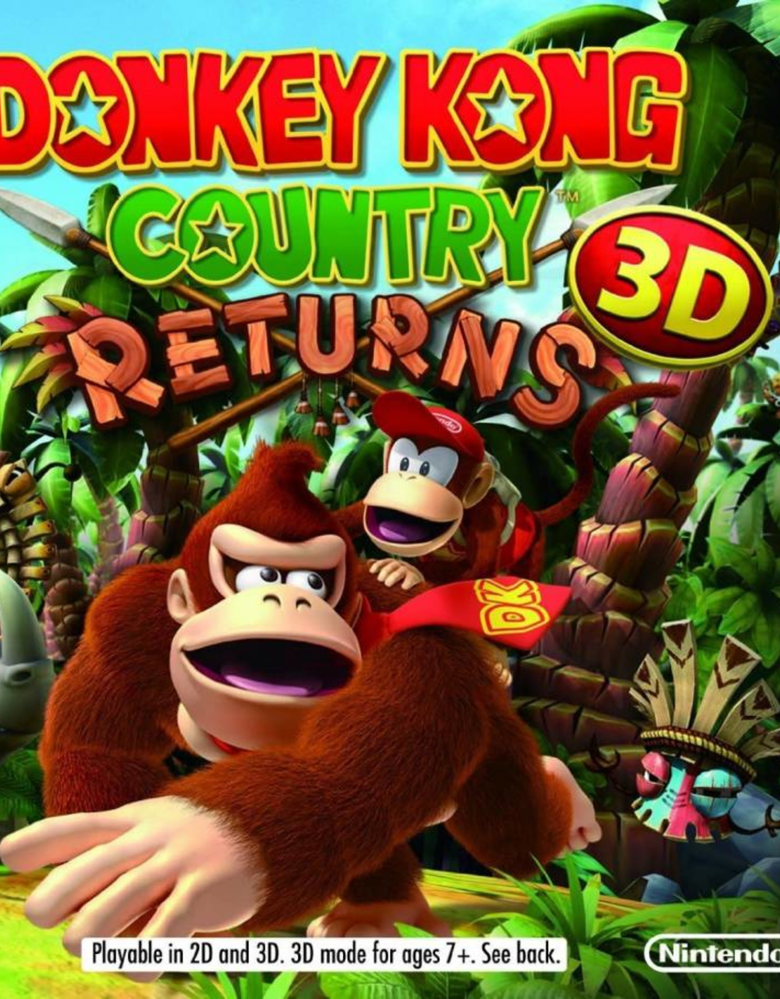 Donkey Kong Country Return - 3DS NEW