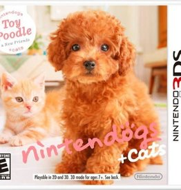 Nintendogs Cats - 3DS NEW