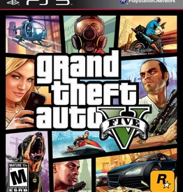 GTA Grand Theft Auto 5 - PS3 PrePlayed