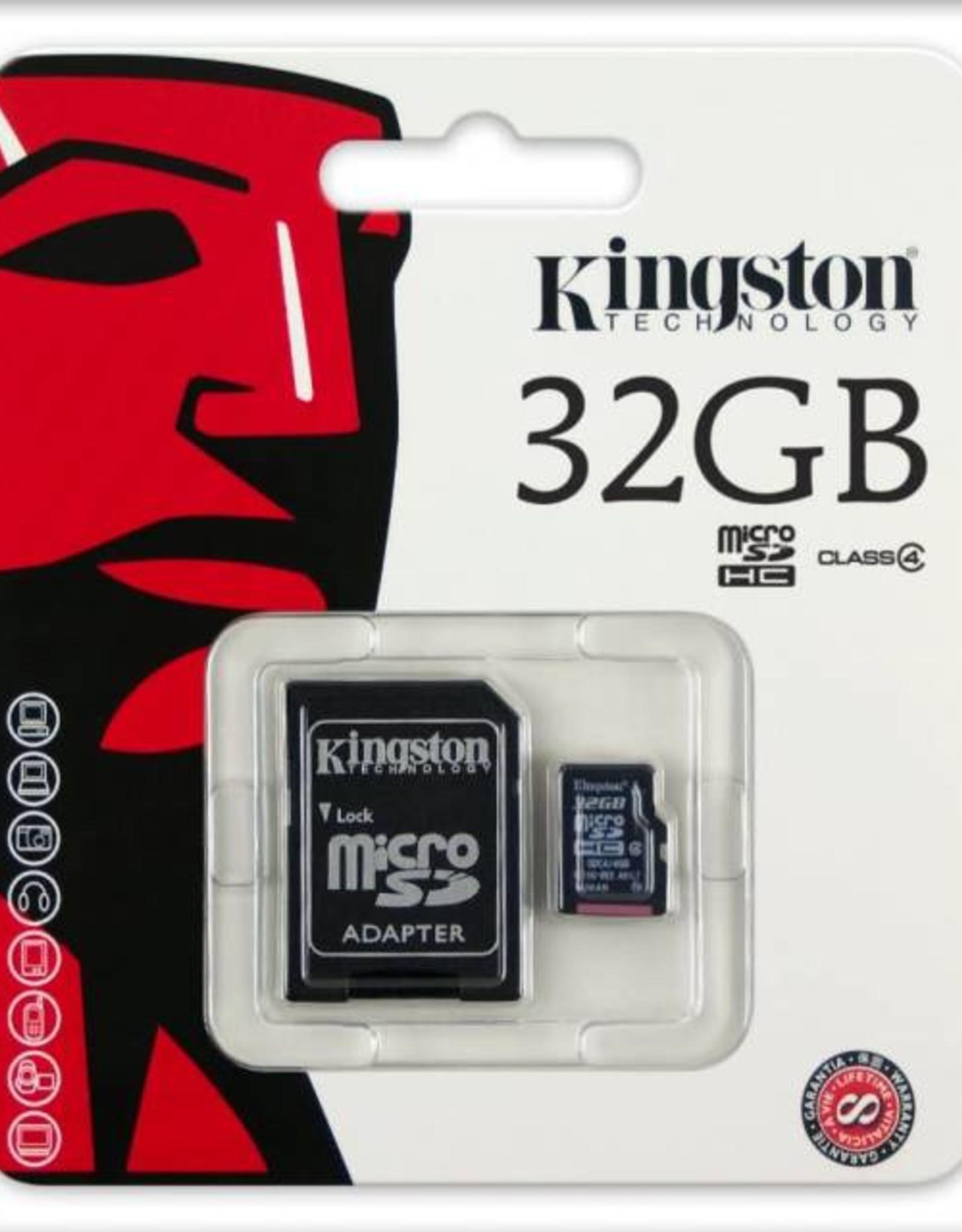 32GB Micro SD Class 4 Memory