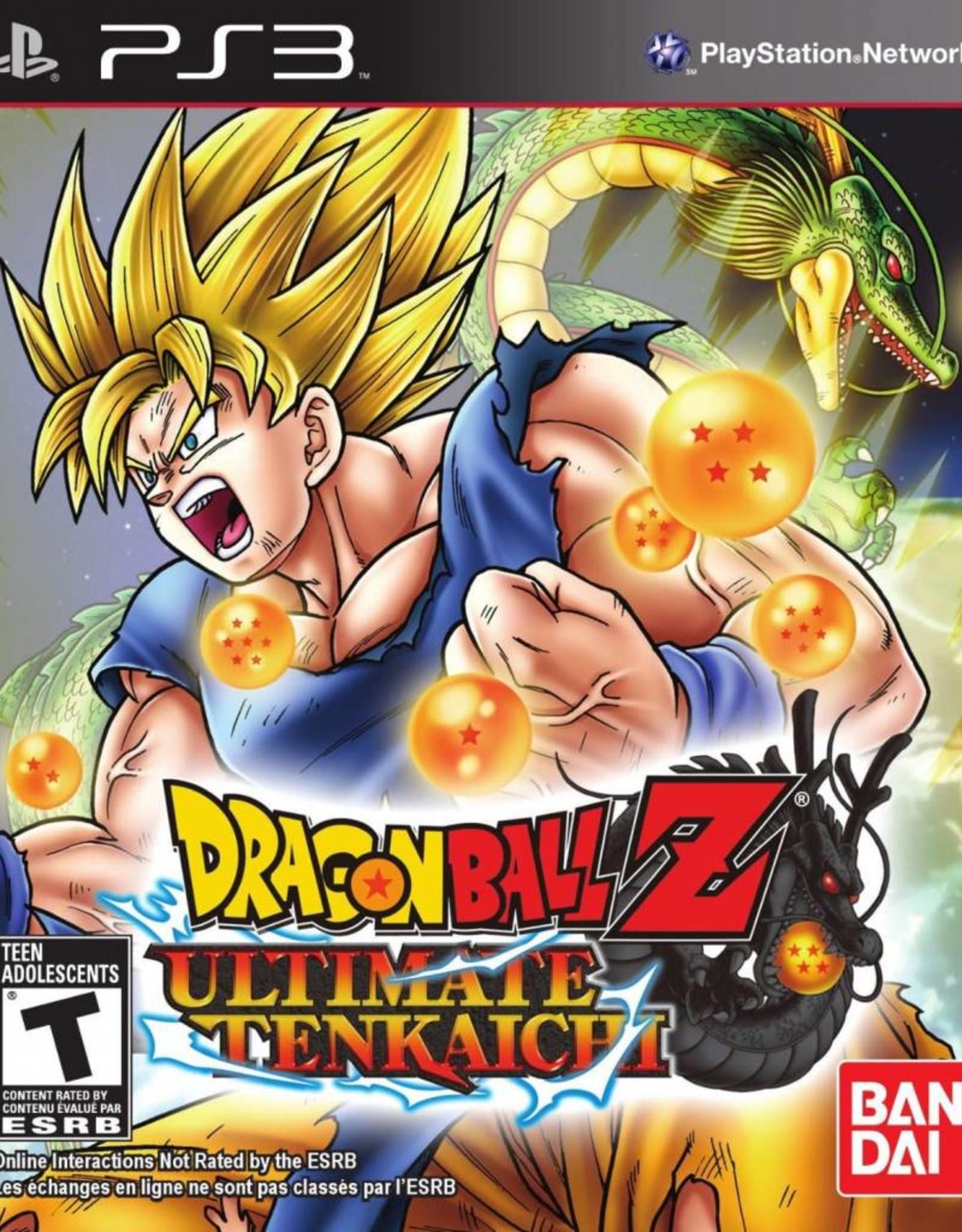 Dragon Ball Z: Ultimate Tenkaichi - PS3 NEW