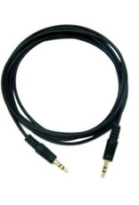 6.5ft / 2m Auxilary 3.5mm Cable Black