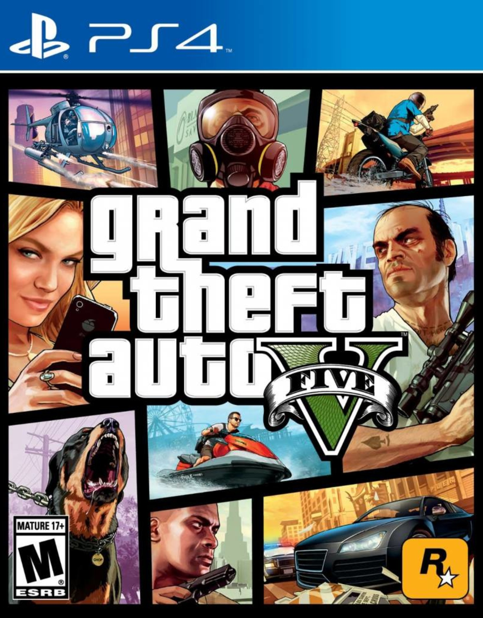 GTA Grand Theft Auto 5 - PS4 NEW