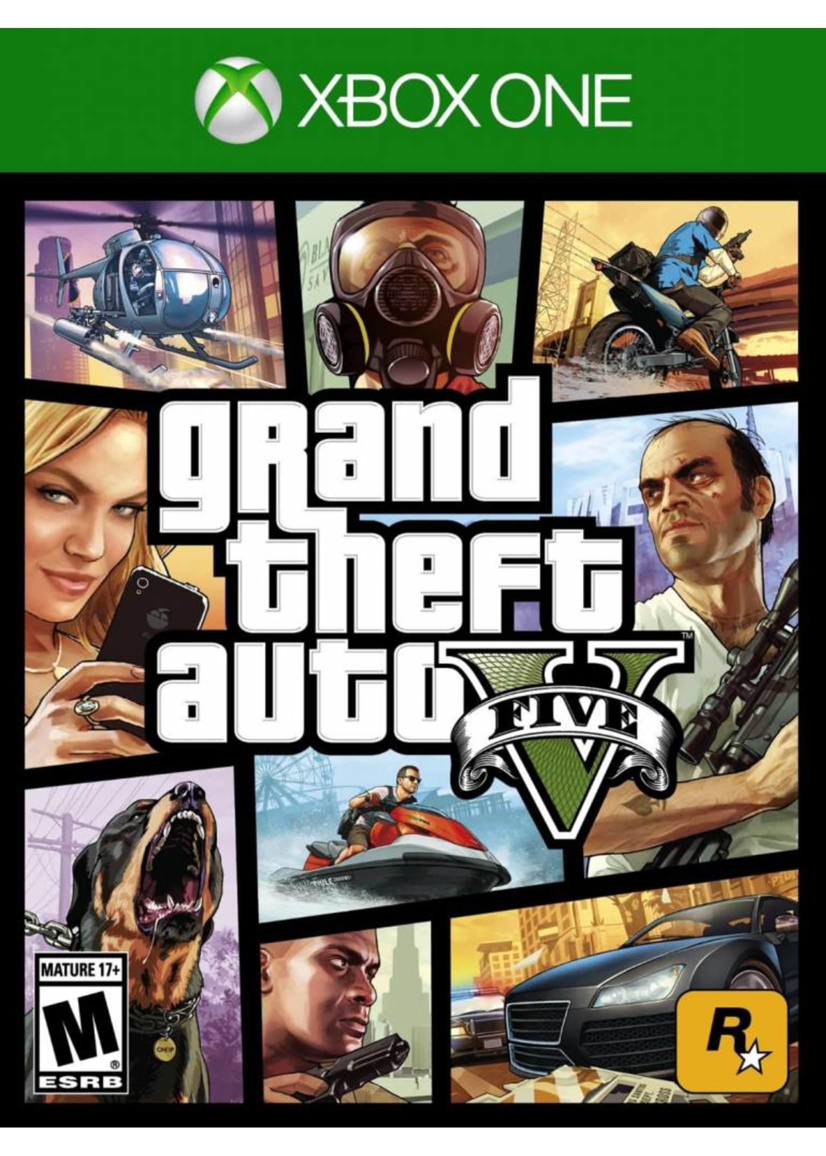 GTA Grand Theft Auto 5 - XBOne NEW
