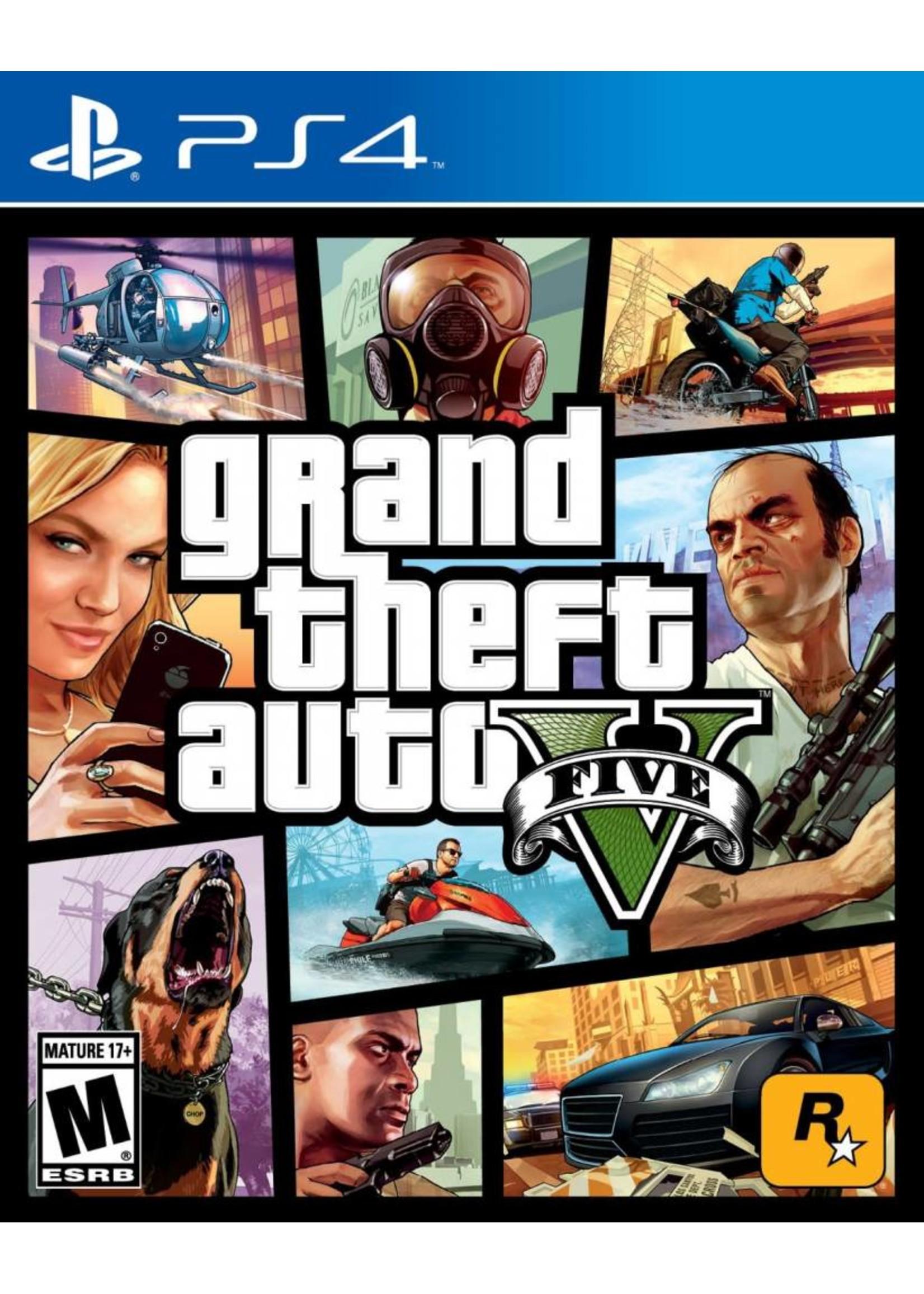 GTA Grand Theft Auto 5 - PS4 PrePlayed