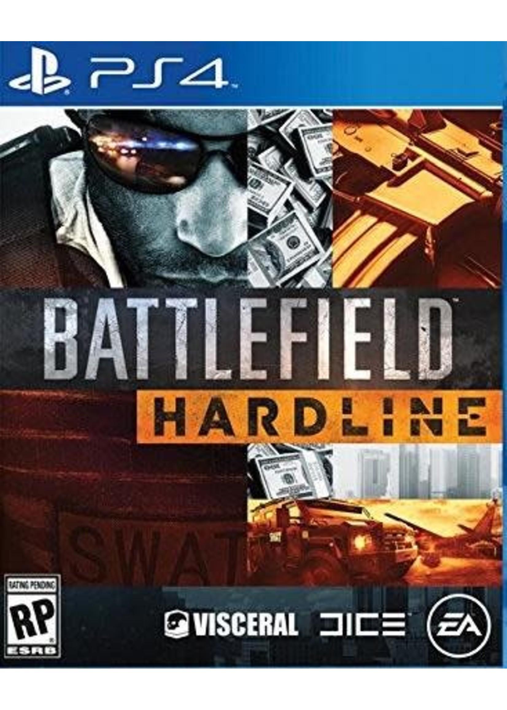 Battlefield: HARDLINE - PS4 NEW