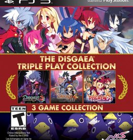 Disgaea Triple Pack Collection - PS3 NEW