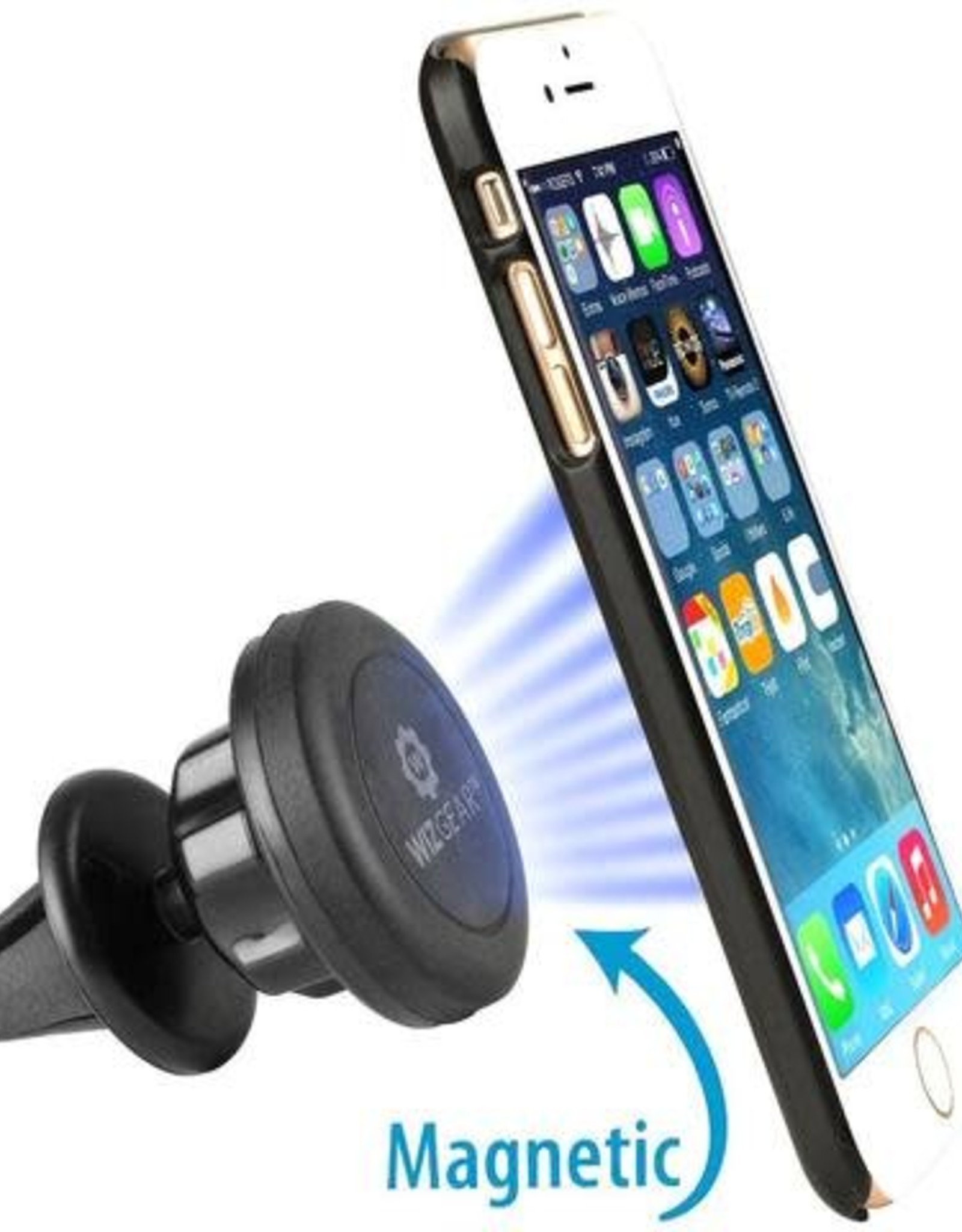 Car Phone Mount Magnetic WizGe