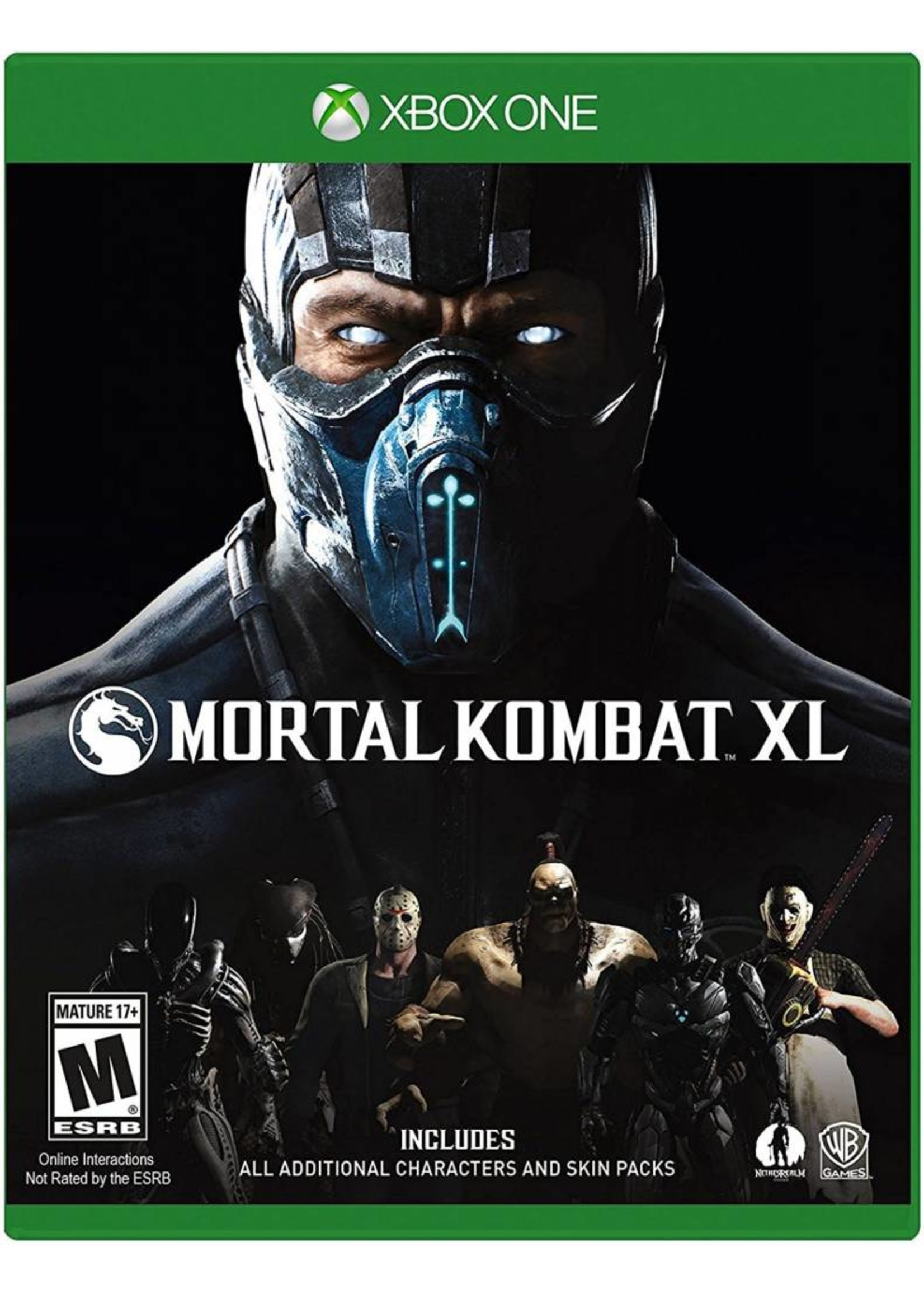 Mortal Kombat XL Edition - XBOne NEW