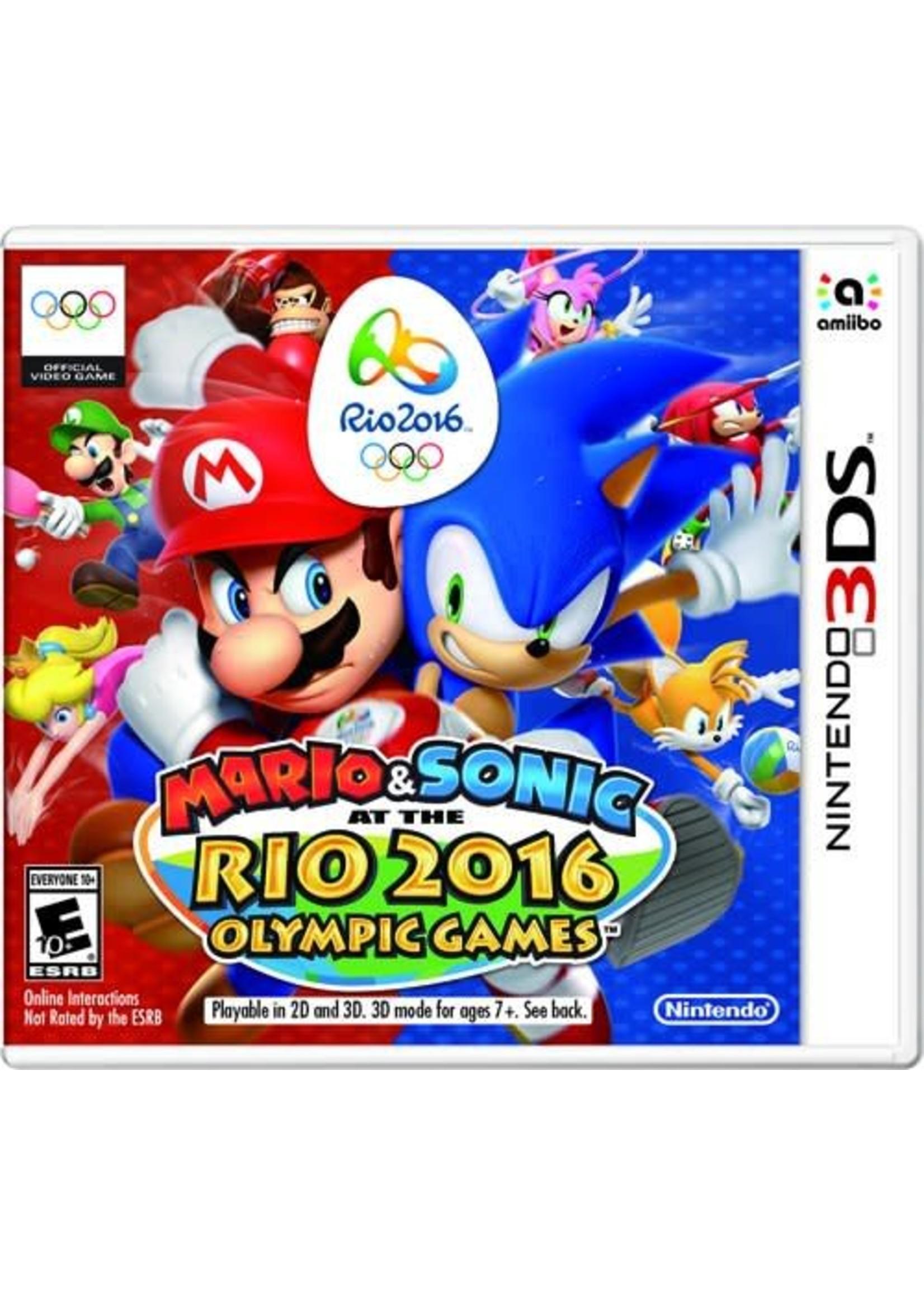 Mario & Sonic Rio Olympics 2016 - 3DS NEW