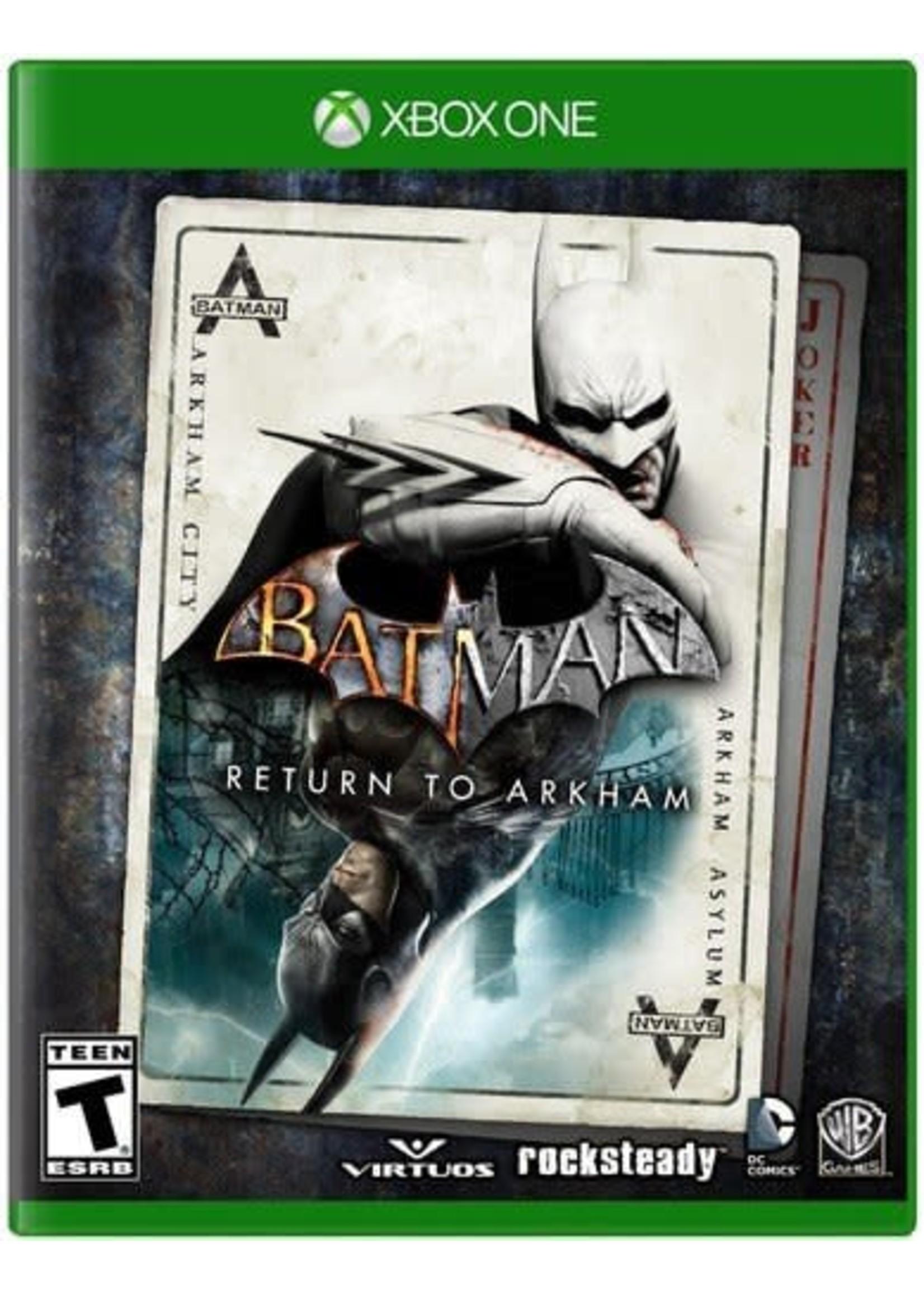 Batman: Return to Arkham - XBOne NEW