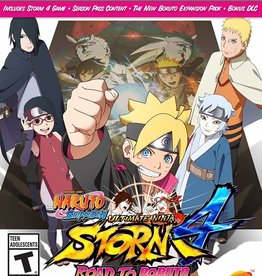 Naruto Shippuden: Ultimate Ninja Storm 4 Road to Boruto - XBOne NEW