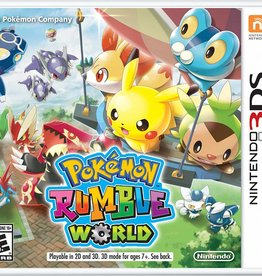 Pokemon Rumble World - 3DS NEW