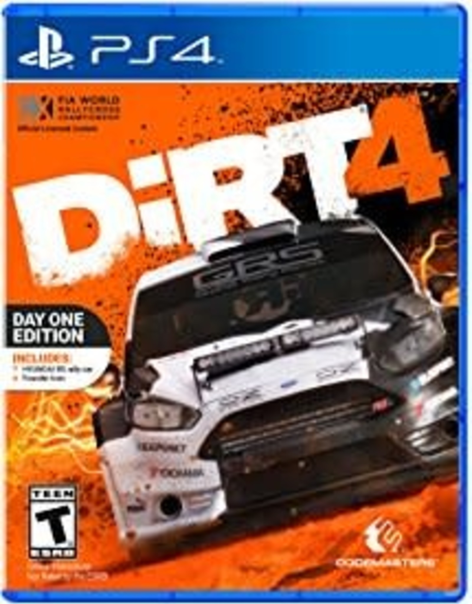 DiRT 4 - PS4 PrePlayed