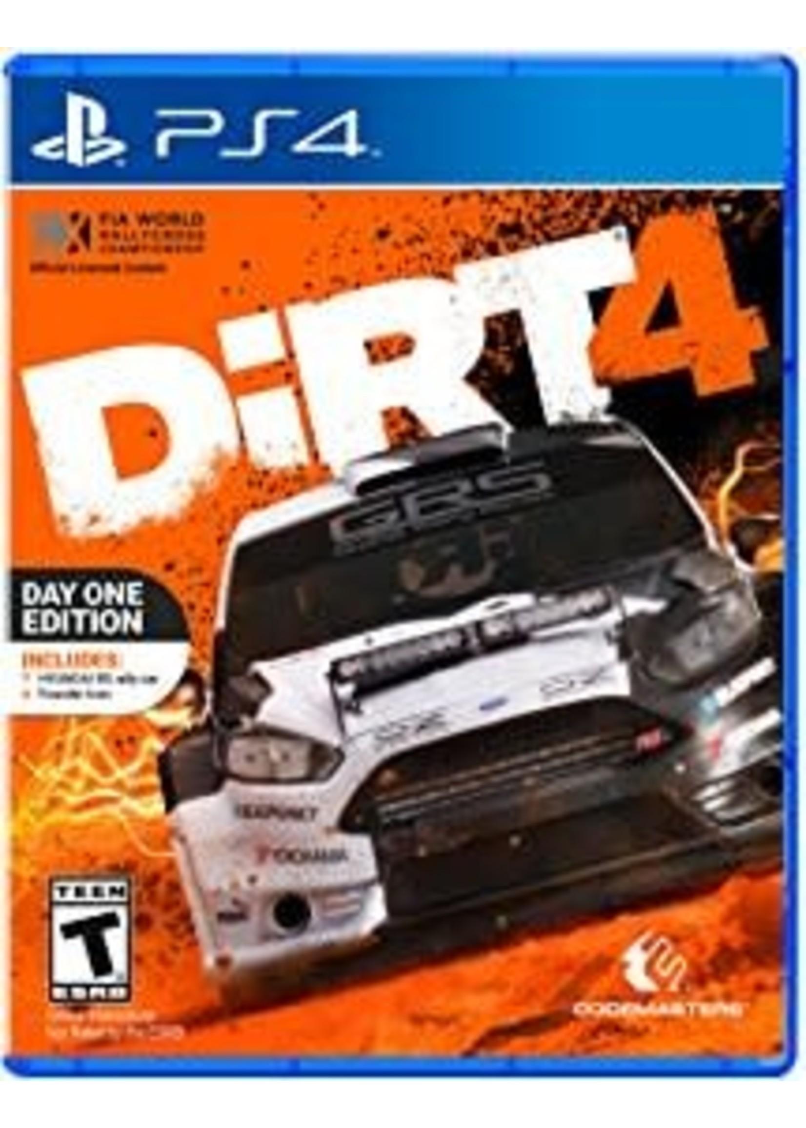 DiRT 4 - PS4 PrePlayed