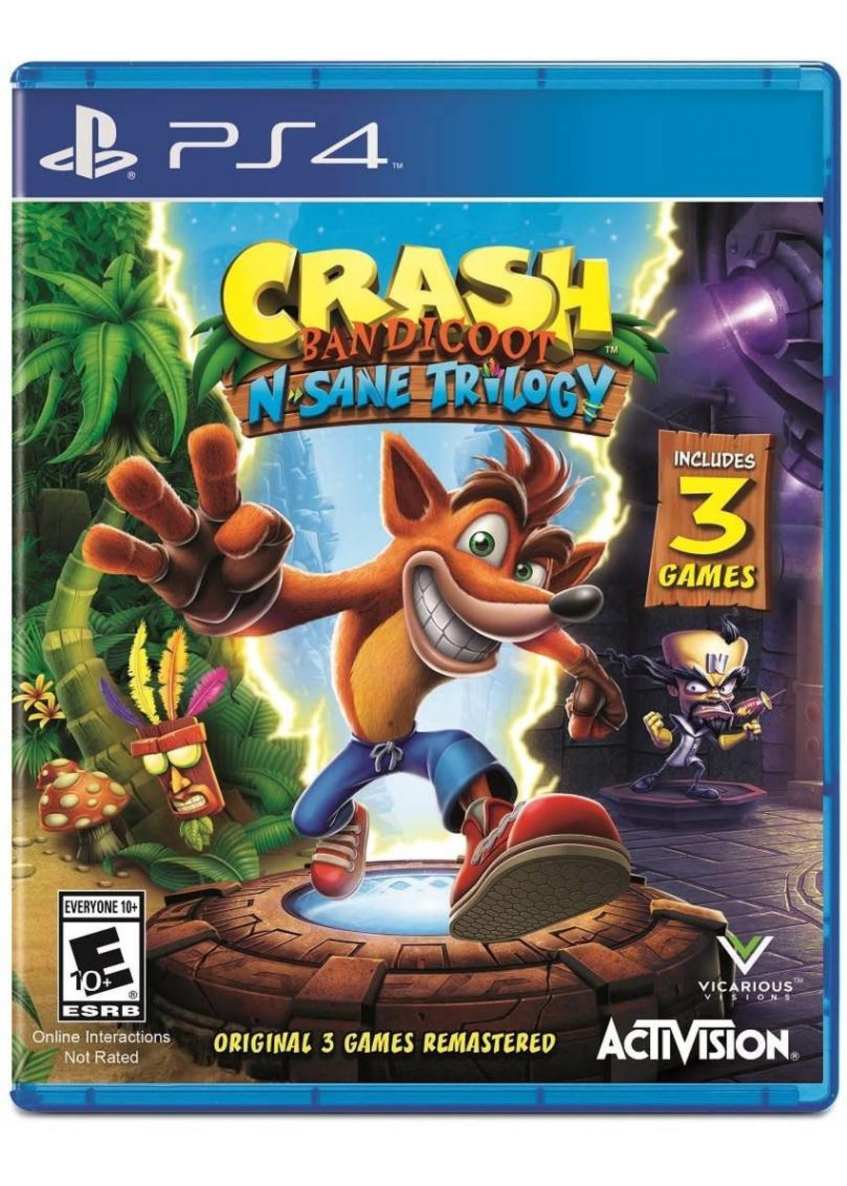 Crash N Sane Trilogy - PS4 NEW
