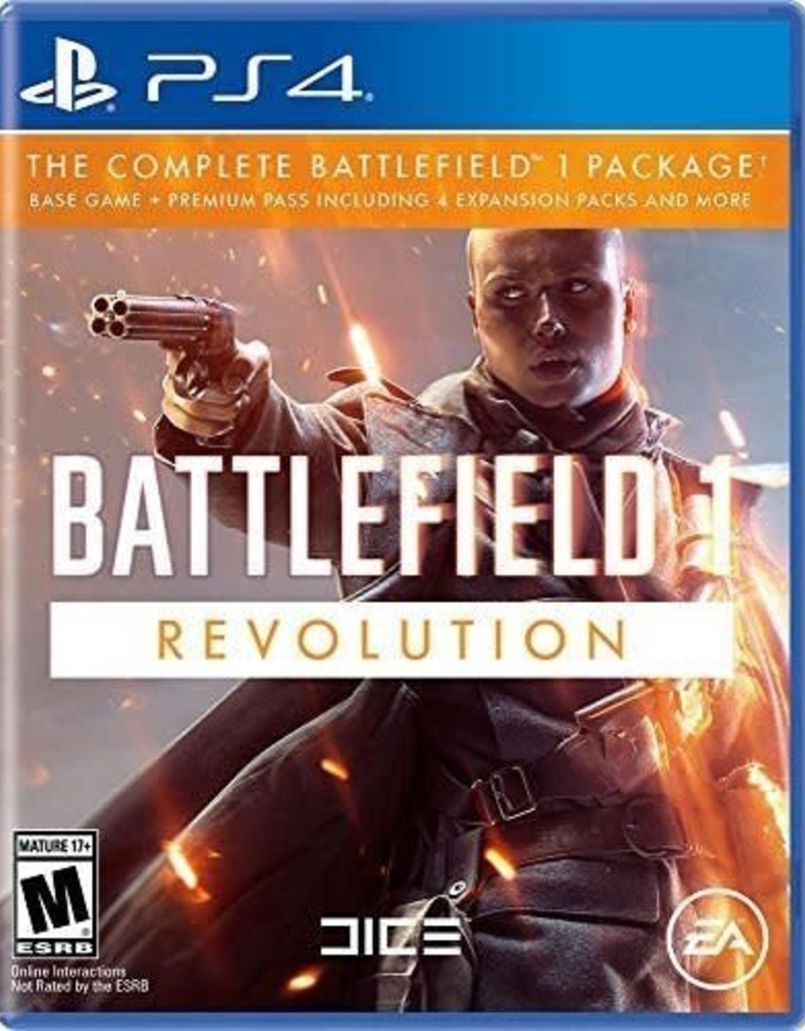 Battlefield 1 Revolution - PS4 NEW