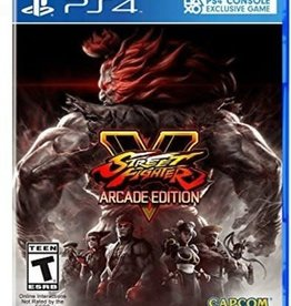 Street Fighter 5 Arcade Edition - PS4 NEW