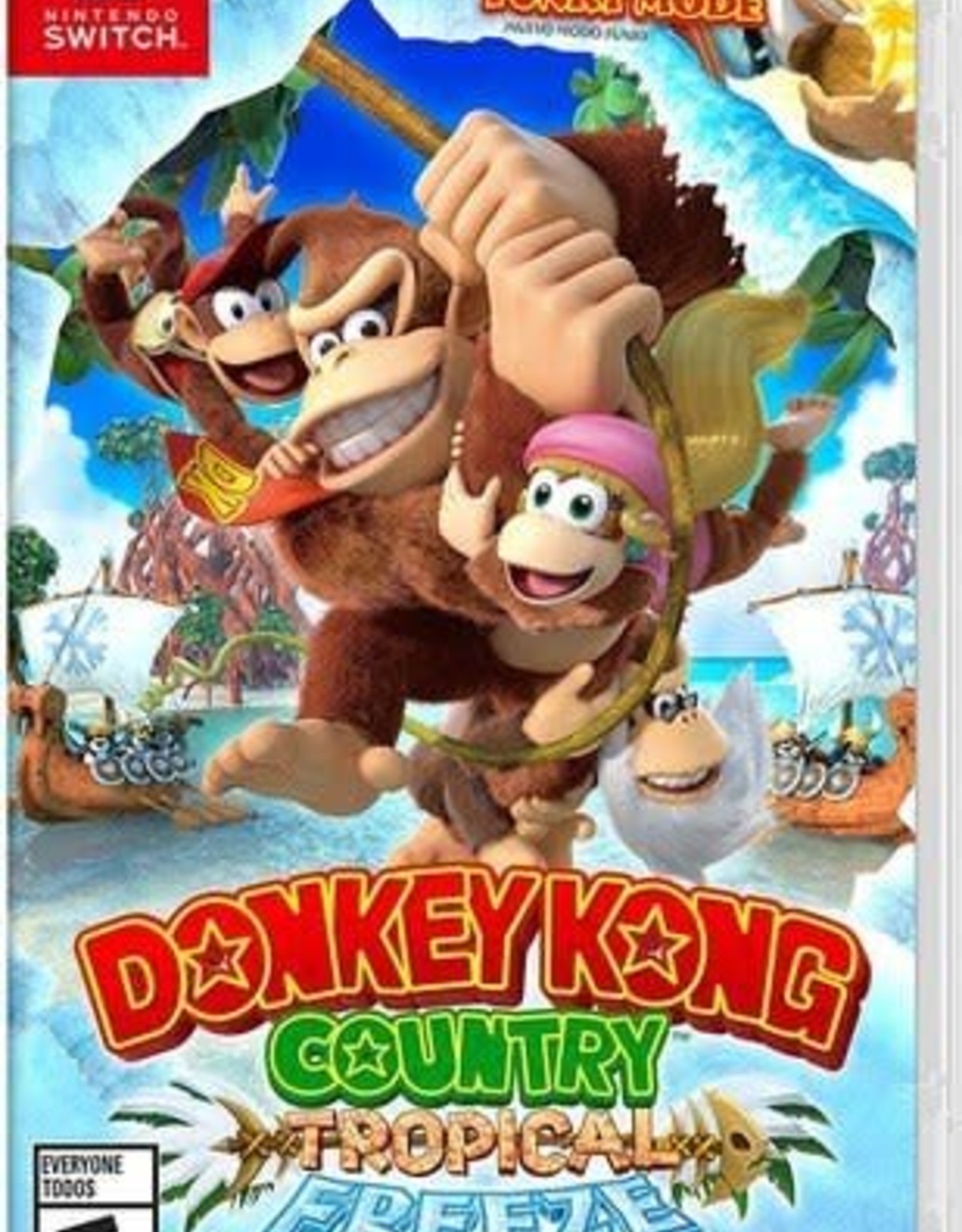 Donkey Kong Country Tropic - SWITCH NEW
