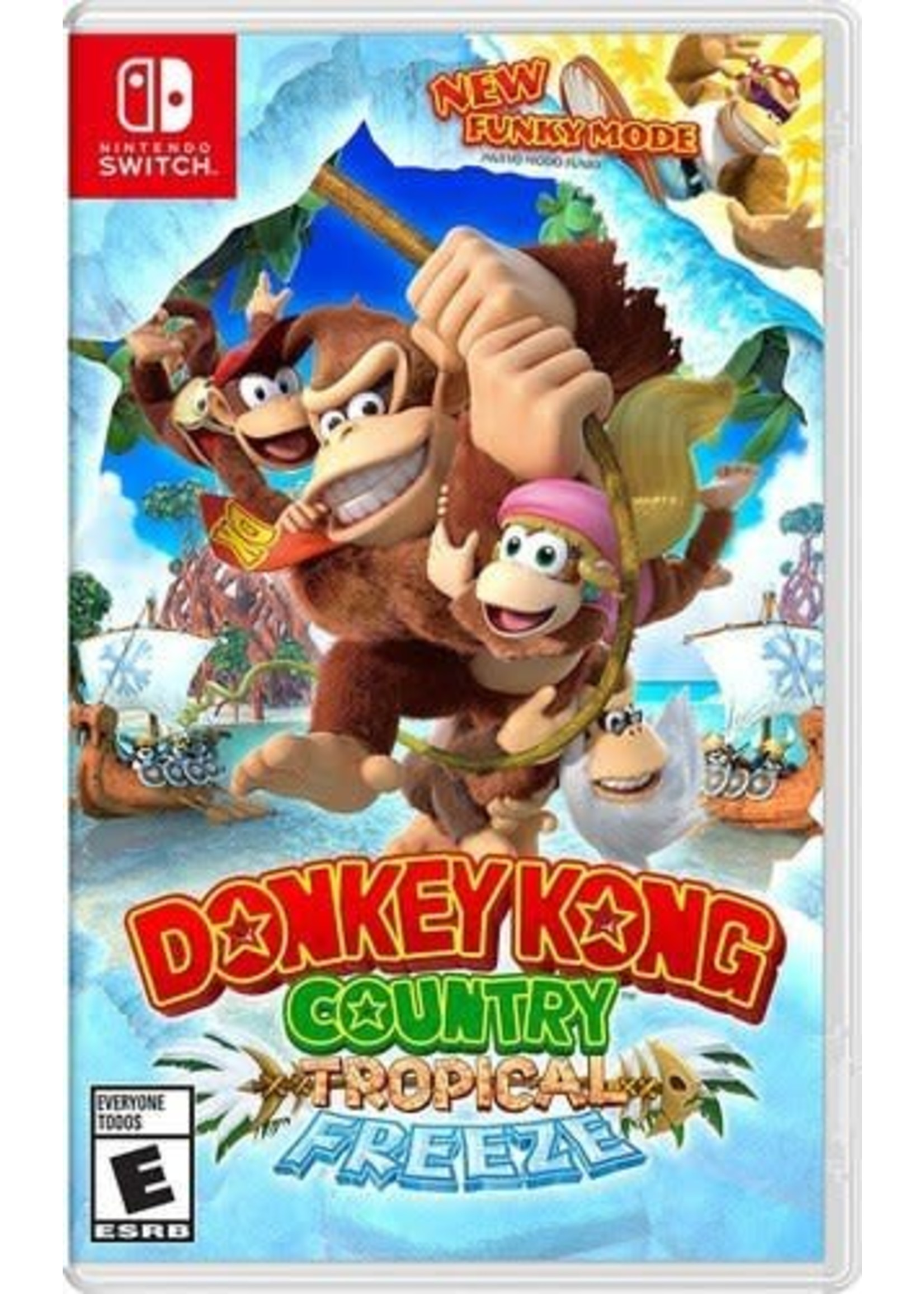 Donkey Kong Country Tropical Freeze - SWITCH NEW