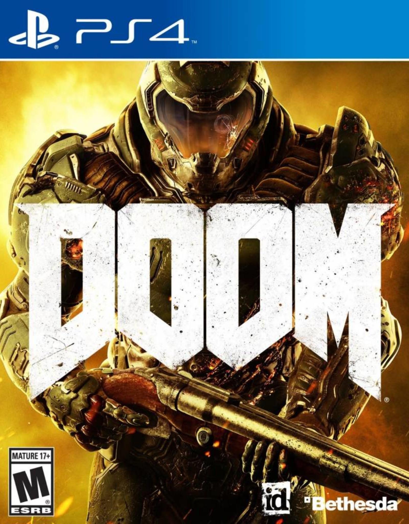 DOOM - PS4 NEW