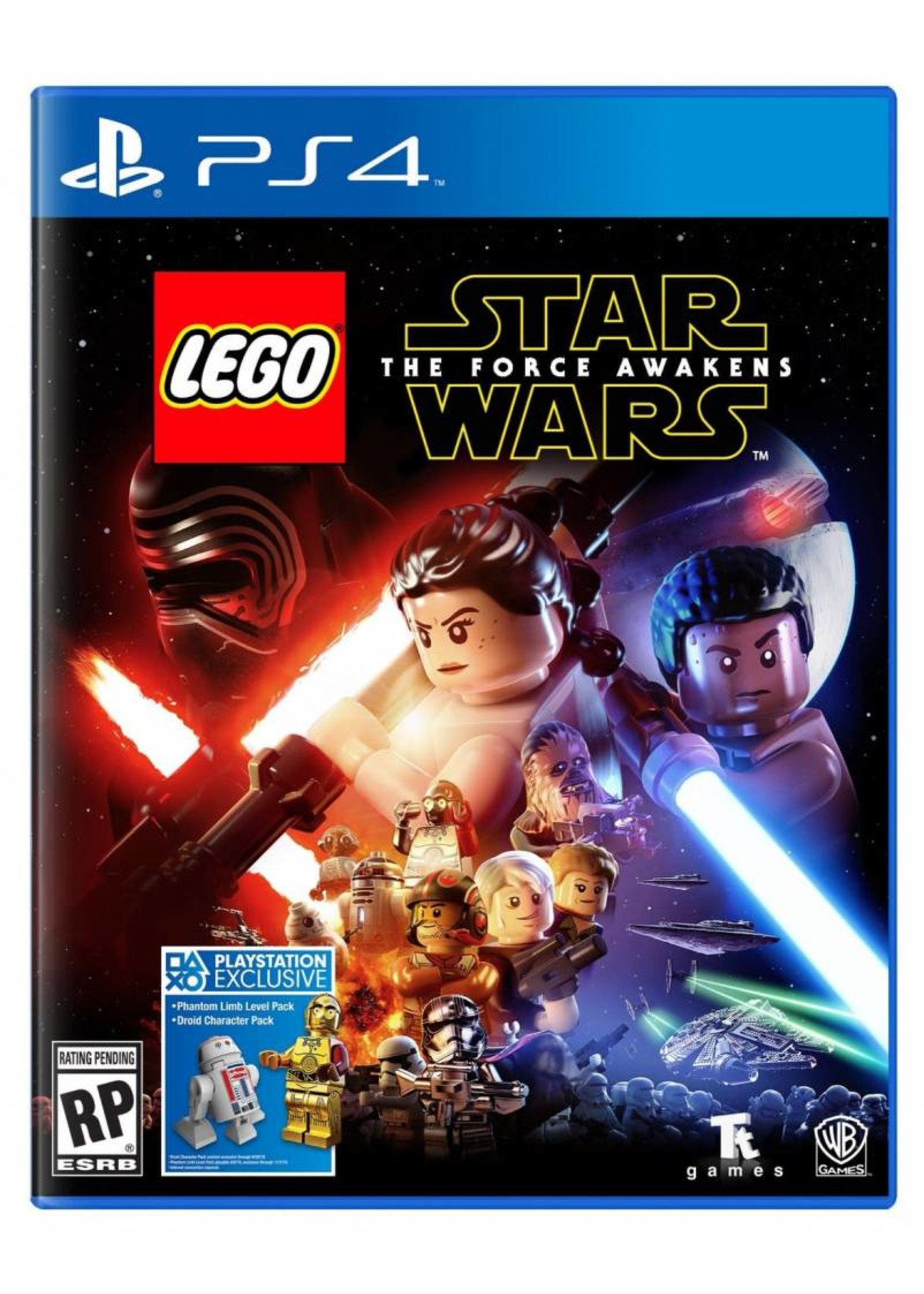 Lego Star Wars Force Awakens - PS4 NEW