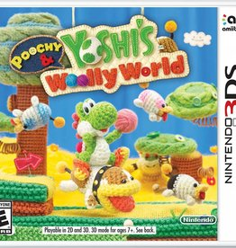 Poochy & Yoshi's Woolly World - 3DS NEW