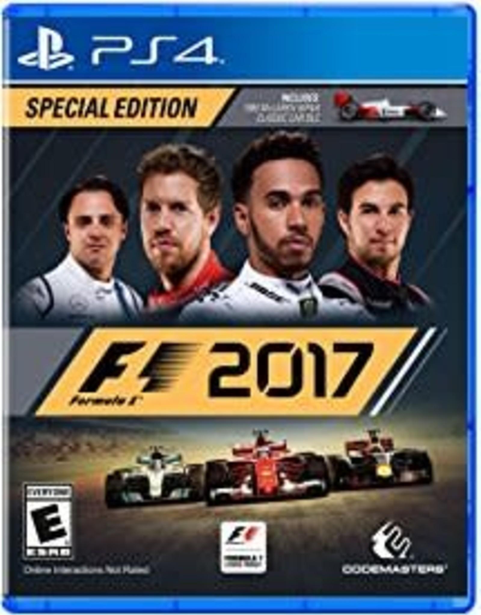 F1 2017 - PS4 NEW