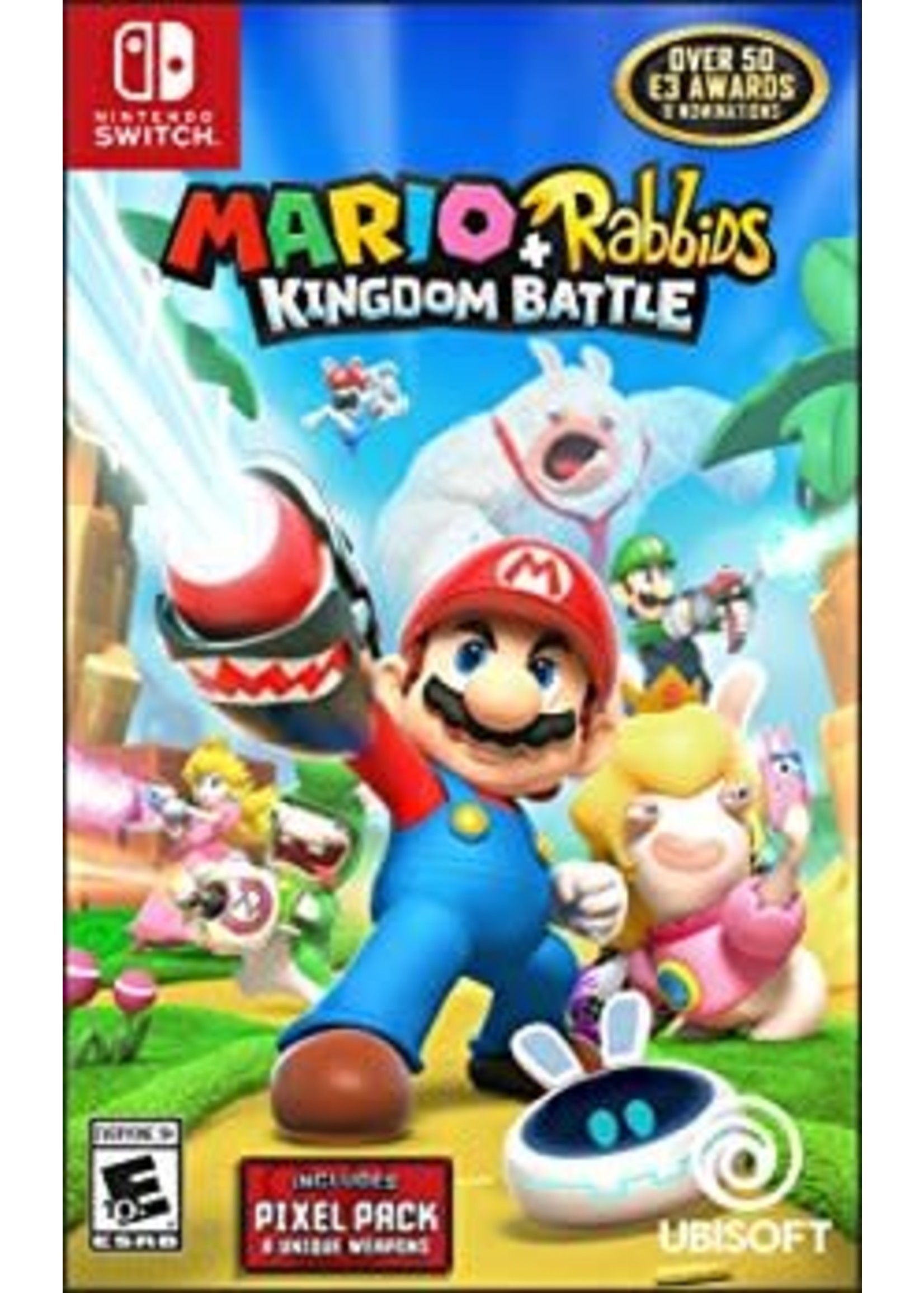 Mario + Rabbids Kingdom Battle - SWITCH NEW