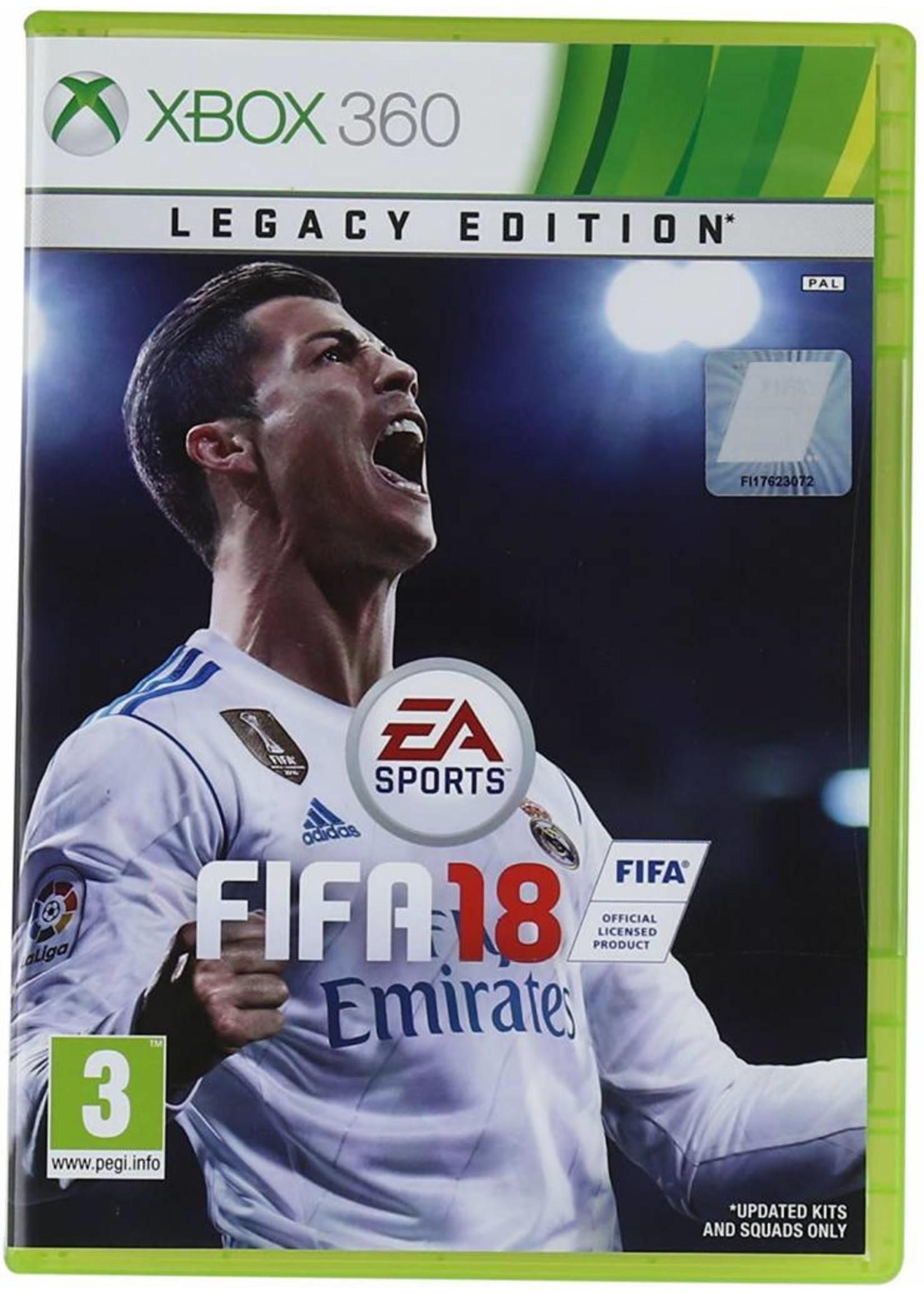 FIFA 18 - XB360 NEW