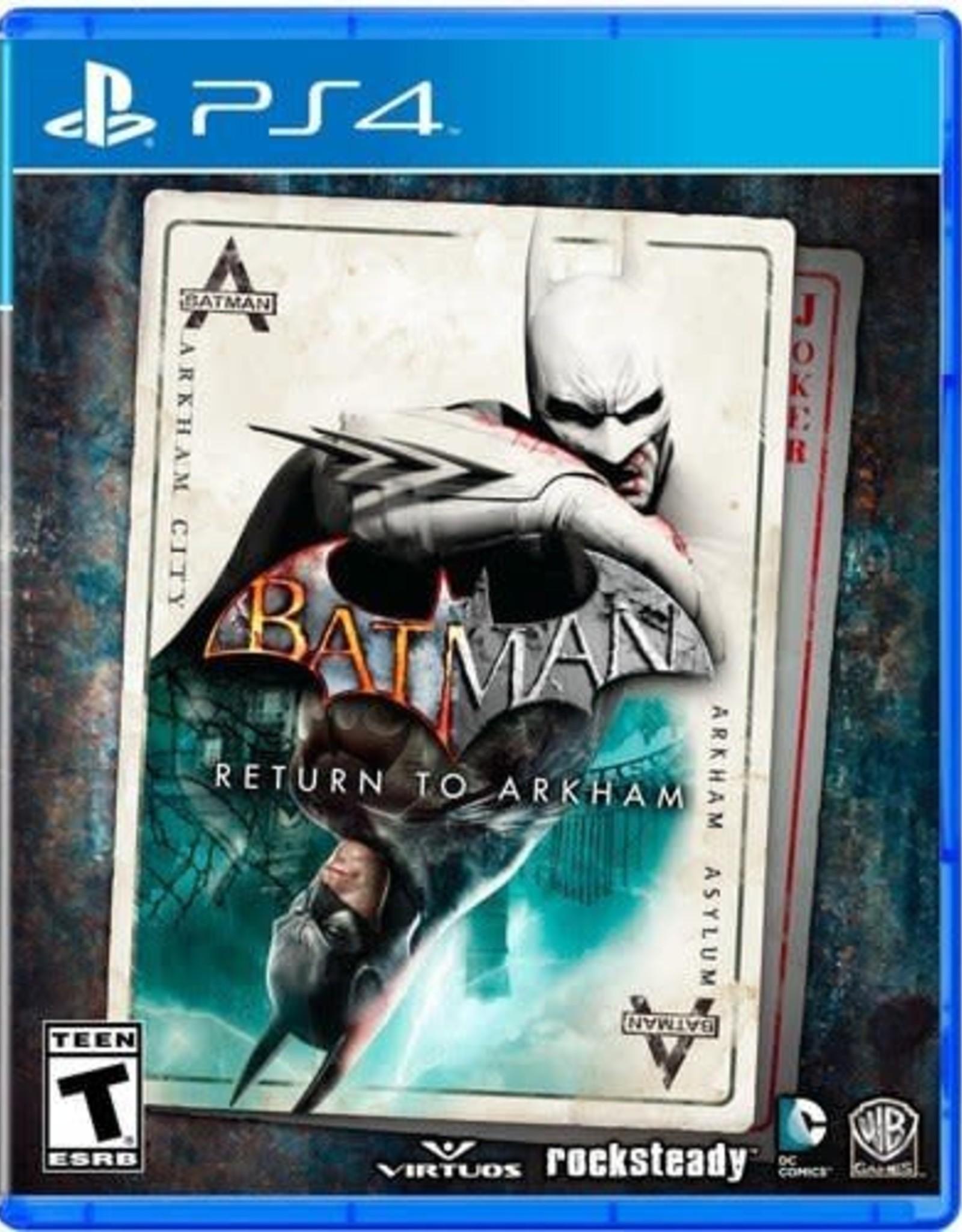 Batman: Return to Arkham - PS4 NEW