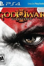 God of War 3 Remastered - PS4 NEW
