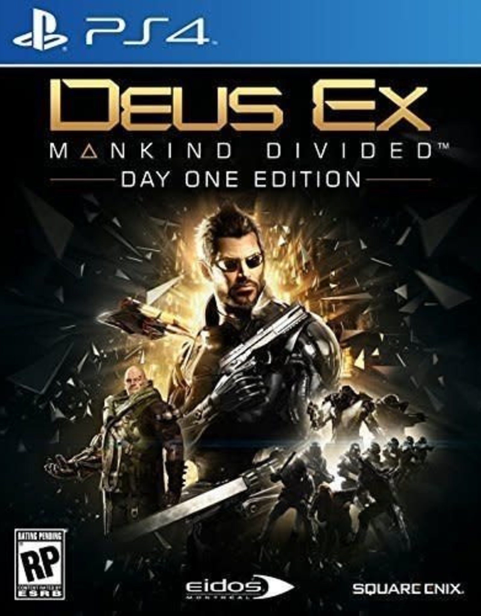 Deus Ex: Mankind Divided - PS4 NEW