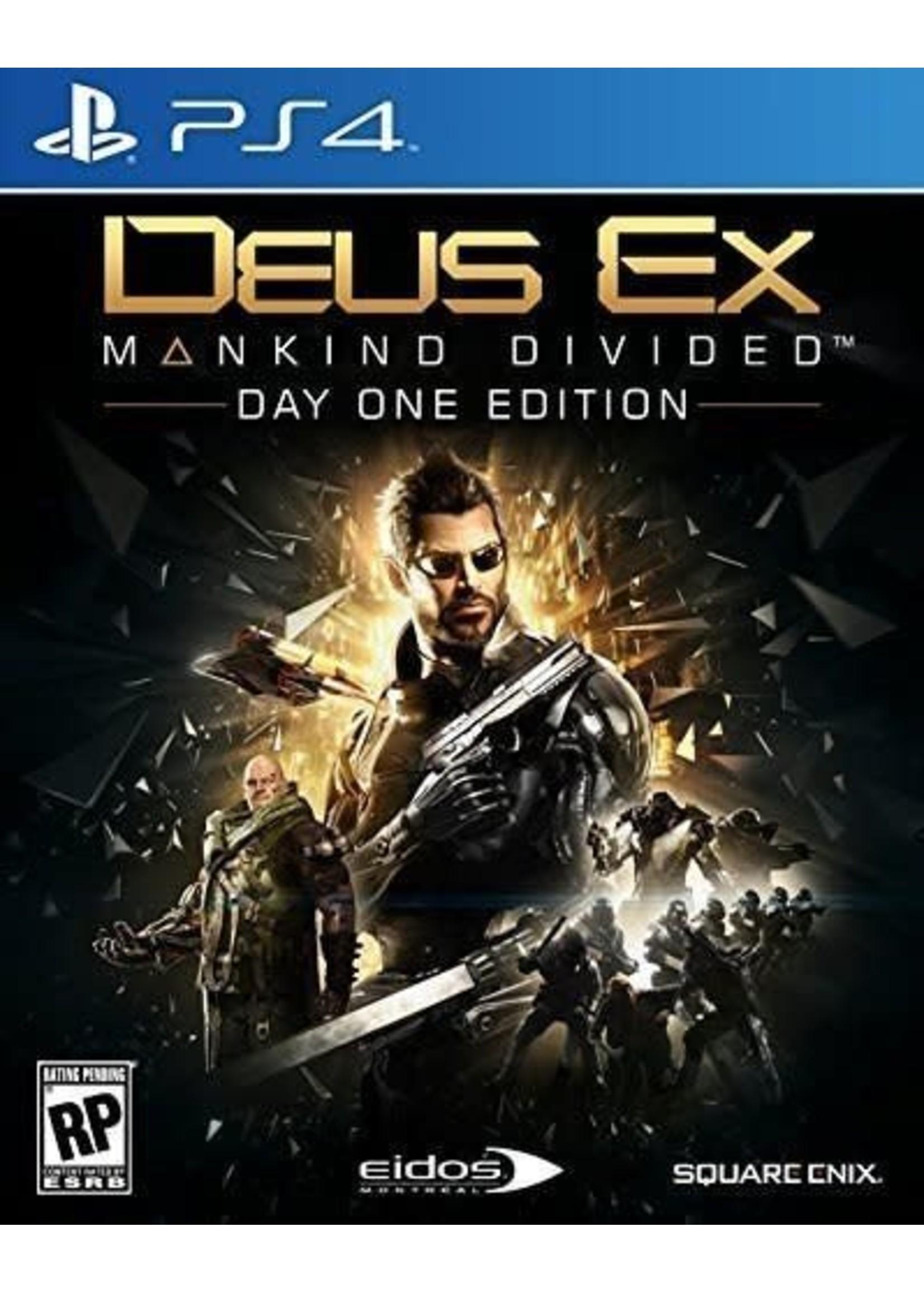 Deus Ex: Mankind Divided - PS4 NEW