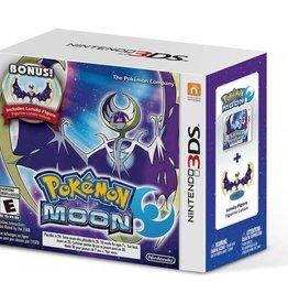 Pokemon Moon with Lunala Figure - 3DS NEW